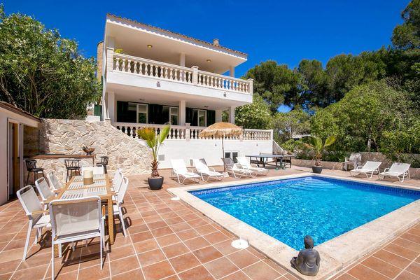 Villa Vista Buda - Font de Sa Cala in Font de sa Cala für 10
