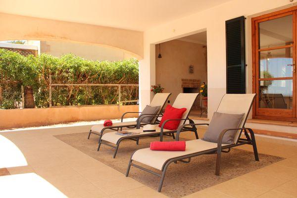 Casa Es Trenc al Mar in Sa Rapita für 6 - 10