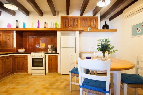 Apartamento Barques 2 in Cala San Vicente für 6
