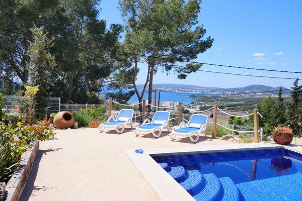 Casa Portals Hills in Calvià für 7