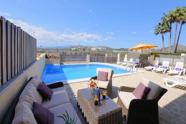 Casa Jeronimo in Playa de Muro für 8