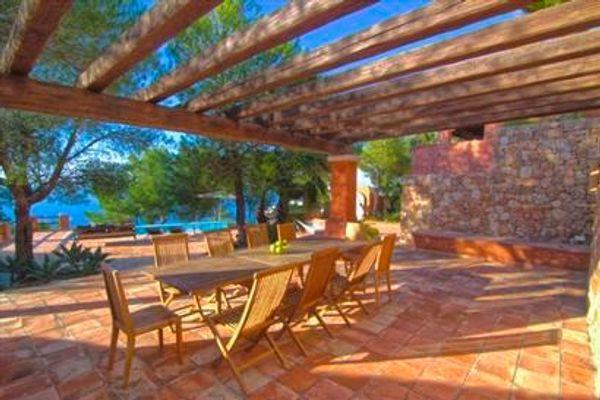 Villa Casa Del Mar in Sant Miquel de Balansat für 10