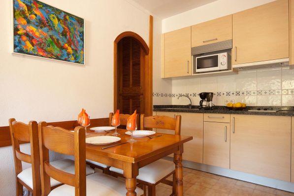 Apartamento Manzano T1 in Cala San Vicente für 4