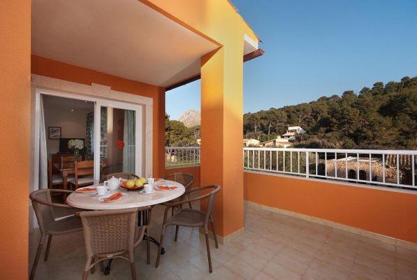 Apartamento Cipres T1 in Cala San Vicente für 4