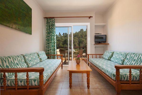 Apartamento Cerezo T2 in Cala San Vicente für 5
