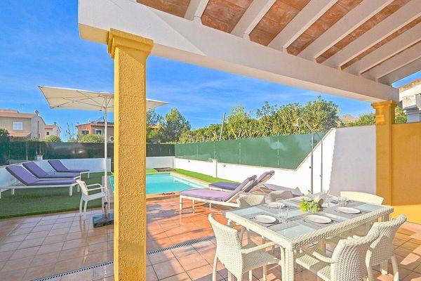 Casa Marcos in Puerto Alcudia für 6