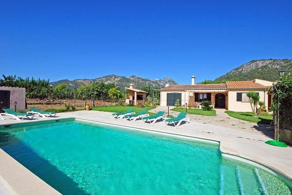 Villa Tabou in Selva für 6