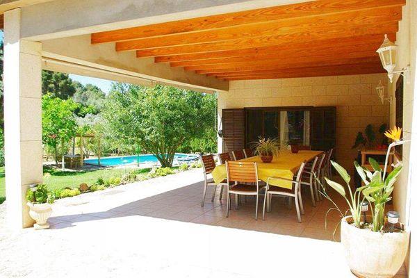 Finca Casa Verde in Llucmajor für 11