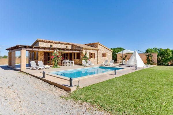 Finca Casa Leticia in Felanitx für 6
