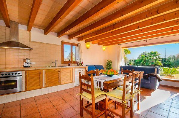 Casa Sa Caseta in Pollensa für 6