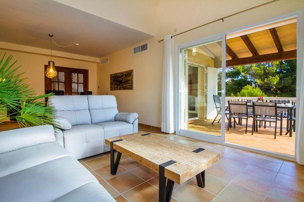 Casa Mar Villa in Cala Mesquida für 6