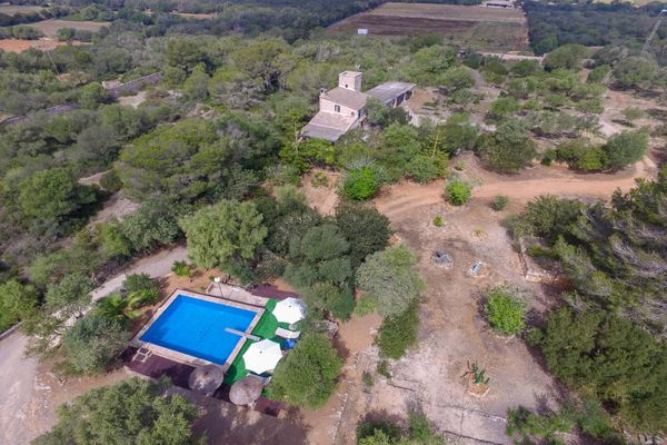 Finca Cabanya in Campos für 4