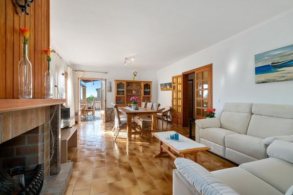 Casa Mar i cel in Colonia de Sant Pere für 6