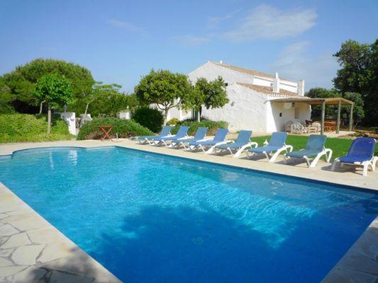 Finca Biniet in Menorca für 10