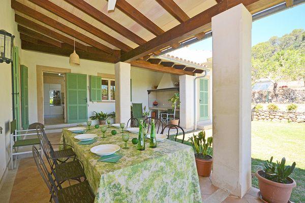 Casa Son Maguet in Selva für 12