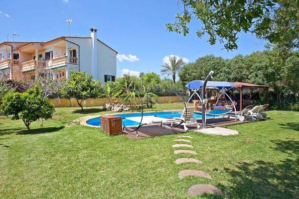 Villa Cristina in Sa Coma für 10