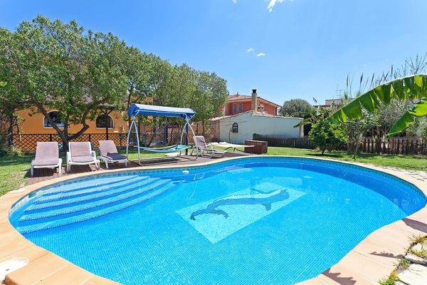 Villa Cristina in Sa Coma für 16