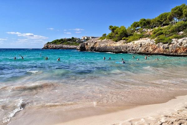 Cala Anguila auf Mallorca