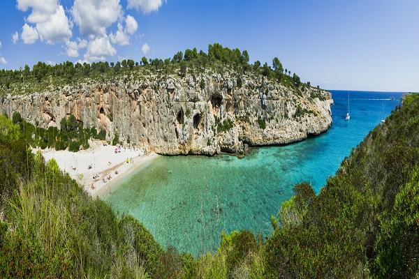 Cala Bota auf Mallorca