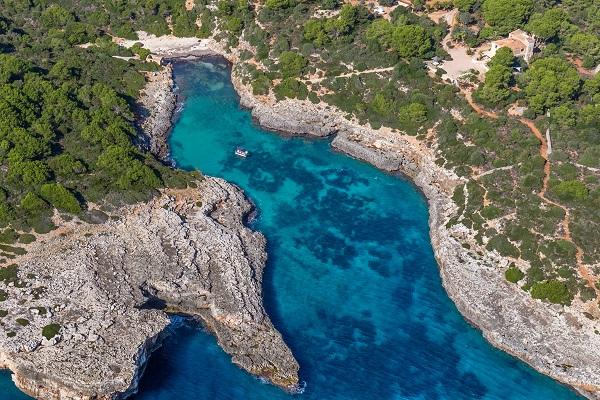 Cala Brafi auf Mallorca