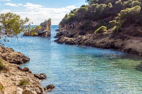 Cala Falco auf Mallorca