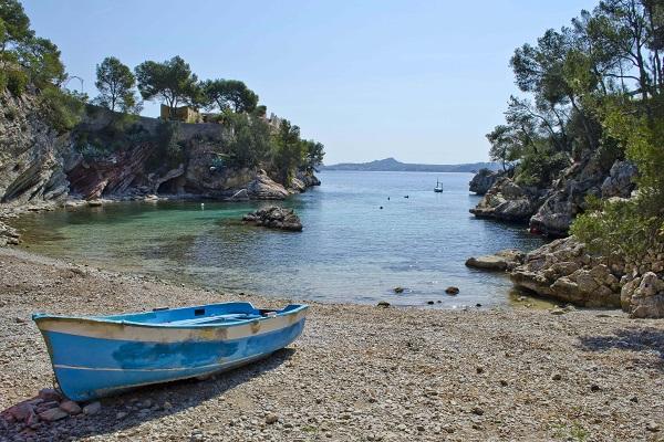 Cala Fornells auf Mallorca