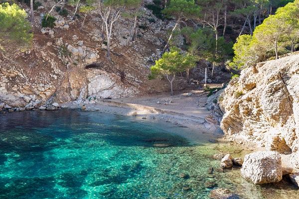 Cala Monjo auf Mallorca