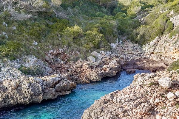 Cala Murta auf Mallorca