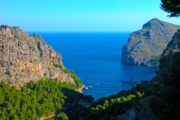 Cala Tuent auf Mallorca
