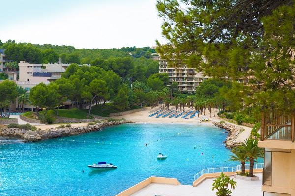 Cala Vinyes auf Mallorca