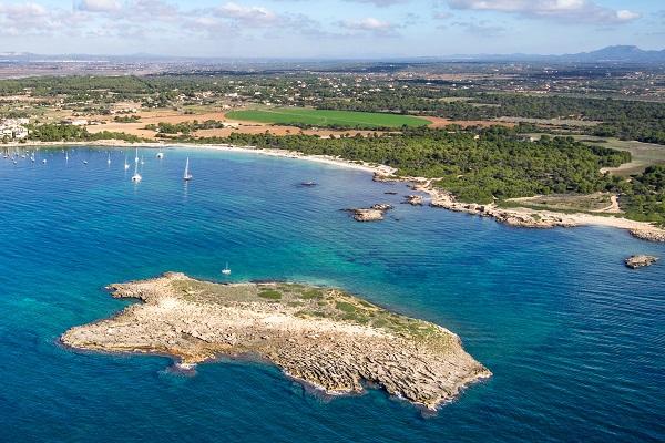 Platja de es Dolc auf Mallorca