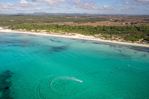 Platja de sa Rapita auf Mallorca