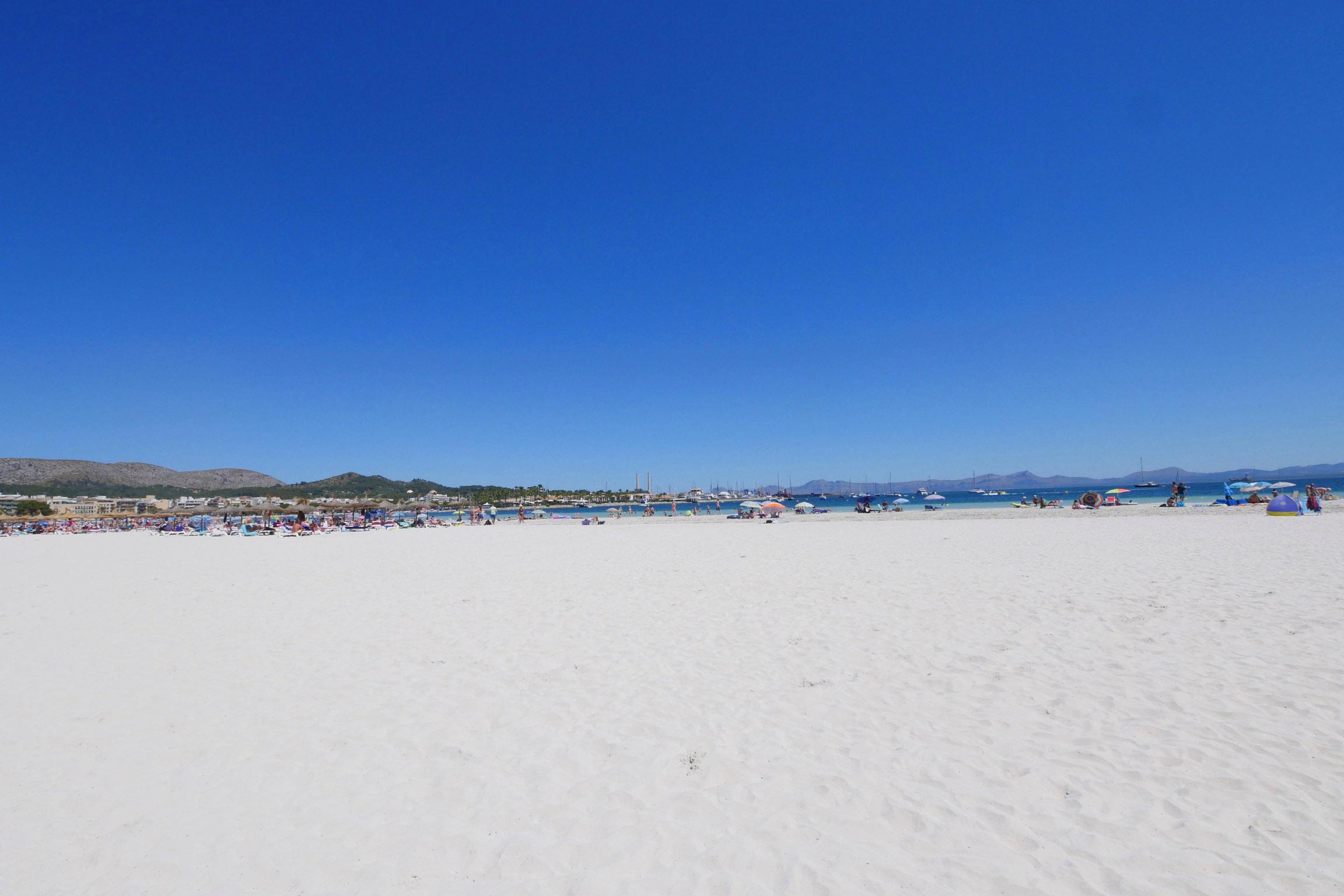Playa de Alcudia auf Mallorca