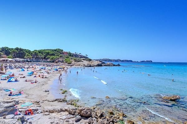 Playa La Romana auf Mallorca