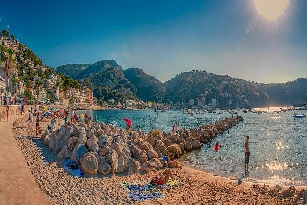Port Soller auf Mallorca